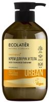 Крем для рук Ecolatier Urban SOS глубокое питание марула орех кукуи и пантенол (400мл) -
