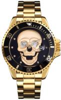 Часы наручные мужские Skmei 9195 (золото/черный) -