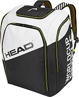 Рюкзак спортивный Head Rebels Racing Backpack L / 383039 (антрацит/белый/неоновый желтый) -