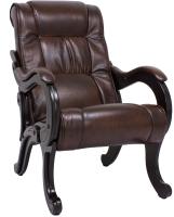 Кресло мягкое Импэкс Комфорт 71 (венге/Antik Crocodile) -