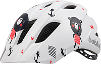 Защитный шлем Bobike Helmet Plus XS/ 8742000006 (Teddy Bear) -