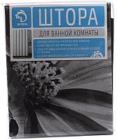 Шторка-занавеска для ванны Белбогемия Герберы 10741021 -