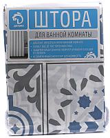 Шторка-занавеска для ванны Белбогемия Луиза 25630099 -