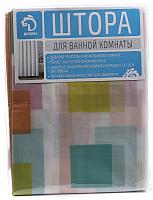 Шторка-занавеска для ванны Белбогемия Палитра 10997335 -
