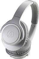 Наушники-гарнитура Audio-Technica ATH-SR30BT (серый) -