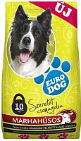 Корм для собак Eurodog С говядиной / ED108 (10кг) -