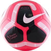 Футбольный мяч Nike Pitch PL / SC3569-620 (размер 5, розовый/белый/черный) -