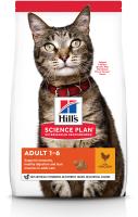 Корм для кошек Hill's Science Plan Adult Optimal Care Chicken / 604716 (300г) -