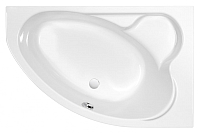 Ванна акриловая Cersanit Kaliope 153x100 R / WA-KALIOPE-153-R-W -