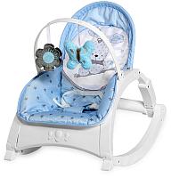 Детский шезлонг Lorelli Enjoy Blue Bunny / 10110112043 -