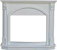Портал для камина Смолком Lagos FS25 (белый/ваниль) -