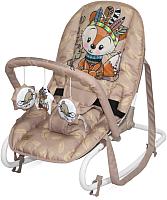 Детский шезлонг Lorelli Top Relax Beige Foxy / 10110022042 -
