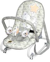 Детский шезлонг Lorelli Top Relax Light Grey Elephant / 10110022048 -