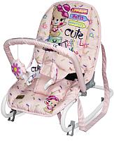 Детский шезлонг Lorelli Top Relax Pink Travelling / 10110022046 -