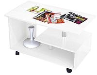 Журнальный столик Тэкс Консул-5 (белый) -