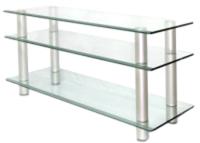 Тумба Artglass PLc 42/3/4 (прозрачный/серый) -