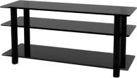 Тумба Artglass PLc 42/3/4 (серый/черный) -