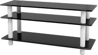 Тумба Artglass PLc 42/3/4 (серый/белый) -