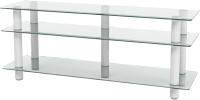 Тумба Artglass PLc 50/3/4 (прозрачный/серый) -