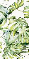 Элемент панно Нефрит-Керамика Фернс Верх / 07-00-5-18-00-81-1605 (600x300, салатный) -