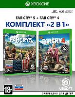Игра для игровой консоли Microsoft Xbox One Far Cry 4 + Far Cry 5 -