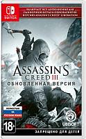 Игра для игровой консоли Nintendo Switch Assassin's Creed III. Обновленная версия -