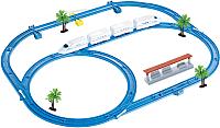 Железная дорога детская Huan Nuo Happy Train / 888-4 -