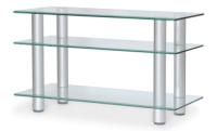 Тумба Artglass PLc 32/3/4 (прозрачный/серый) -