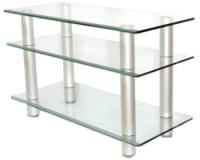 Тумба Artglass PLc 37/3/4 (прозрачный/серый) -