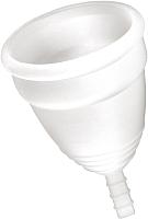 Менструальная чаша Yoba Nature Coupe (L, белый) -