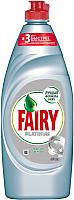 Средство для мытья посуды Fairy Platinum Ледяная свежесть (650мл) -