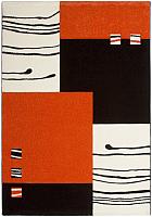 Ковер Lalee California 103 (120x170, черный/оранжевый) -