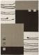 Ковер Lalee California 103 (120x170, черный/серебрянный) -