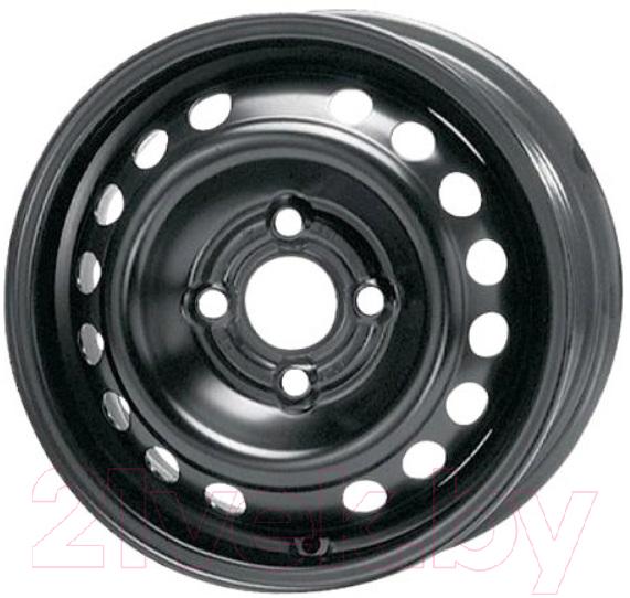 Купить Штампованный диск Trebl, 64A49A 15x6 4x100мм DIA 56.6мм ET 49мм Black, Китай