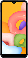 Смартфон Samsung Galaxy A01 / SM-A015FZKDSER (черный) -