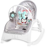 Детский шезлонг Lorelli Enjoy Grey Penguin / 10110112036 -