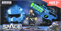Бластер игрушечный Aurora Toys Космическое оружие / 836-7 -