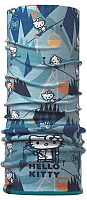 Бафф детский Buff Hello Kitty Polar Child Ski Day Turquoise (115420.789.10.00) -
