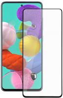Защитное стекло для телефона Volare Rosso Fullscreen Full Glue для Galaxy A51 (черный) -