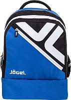 Рюкзак спортивный Jogel Double Bottom / JBP-1903-761 (синий/черный/белый, M) -