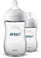 Набор бутылочек для кормления Philips AVENT Natural / SCF033/27 (260мл) -