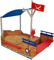Песочница KidKraft Пиратская лодка / 00128-KE -