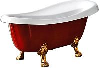 Ванна акриловая BelBagno BB04-ROS (красный) -