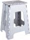 Табурет складной Альтернатива Плетенка большой / М3121 (серый) -