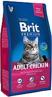 Корм для кошек Brit Premium Cat Adult Chicken / 513086 (1.5кг) -