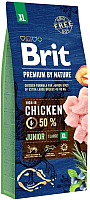 Корм для собак Brit Premium by Nature Junior XL / 526505 (15кг) -