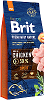 Корм для собак Brit Premium by Nature Sport / 526673 (15кг) -