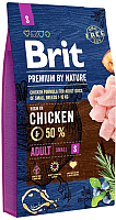 Корм для собак Brit Premium by Nature Adult S / 526307 (8кг) -