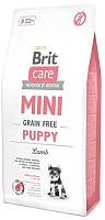 Корм для собак Brit Care Mini GF Puppy Lamb / 520138 (2кг) -