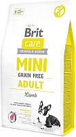 Корм для собак Brit Care Mini GF Adult Lamb / 520121 (7кг) -